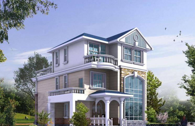 轻钢别墅设计3