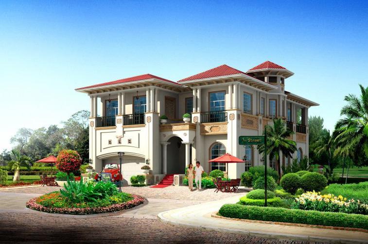 别墅钢结构设计